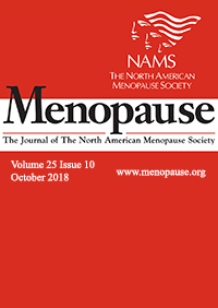ژورنال Menopause October 2018