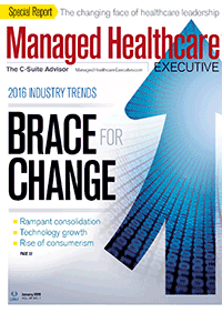مجله Managed Healthcare Executive January 2016