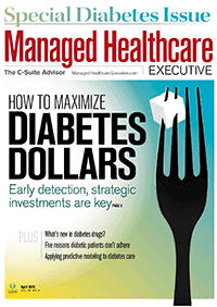 مجله Managed Healthcare Executive April 2016