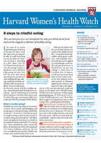 خبرنامه Harvard Womens Health Watch ّfebruary 2016