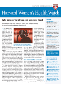 خبرنامه Harvard Womens Health Watch March 2016