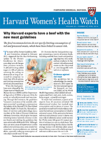 خبرنامه Harvard Womens Health Watch April 2016