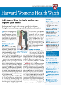 خبرنامه Harvard Womens Health Watch June 2016