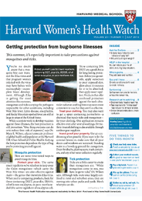خبرنامه Harvard Womens Health Watch July 2016