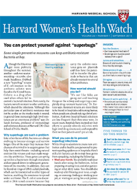 خبرنامه Harvard Womens Health Watch September 2016
