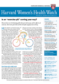 خبرنامه Harvard Womens Health Watch October 2016
