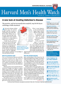 خبرنامه Harvard Mens Health Watch February 2016
