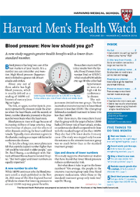 خبرنامه Harvard Mens Health Watch March 2016