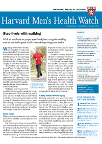 خبرنامه Harvard Mens Health Watch July 2016