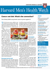 خبرنامه Harvard Mens Health Watch October 2016