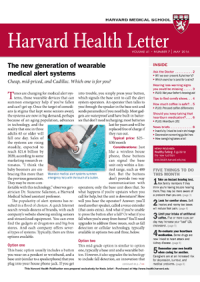 خبرنامه Harvard Health Letter May 2016
