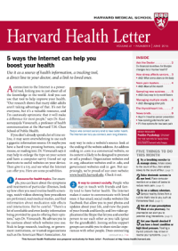 خبرنامه Harvard Health Letter June 2016