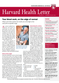 خبرنامه Harvard Health Letter July 2016