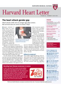 خبرنامه Harvard Heart Letter May 2016