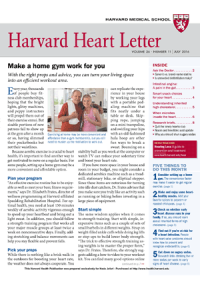 خبرنامه Harvard Heart Letter July 2016