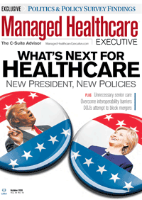 مجله Managed Healthcare Executive October 2016