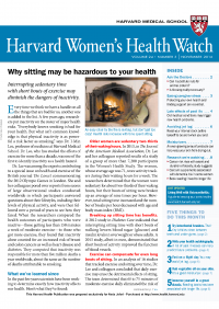 خبرنامه Harvard Womens Health Watch November 2016
