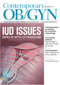 مجله Contemporary OBGYN November 2016