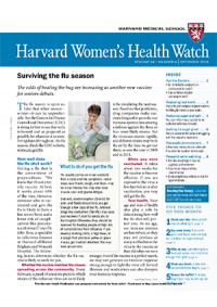 خبرنامه Harvard Womens Health Watch December 2016