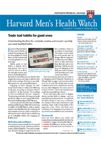 خبرنامه Harvard Mens Health Watch December 2016