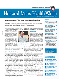 خبرنامه Harvard Mens Health Watch January 2017