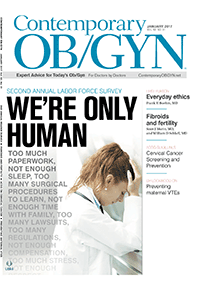 مجله Contemporary OBGYN January 2017