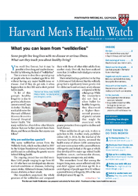 خبرنامه Harvard Mens Health Watch March 2017