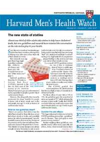خبرنامه Harvard Mens Health Watch April 2017