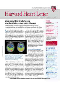 خبرنامه Harvard Heart Letter April 2017
