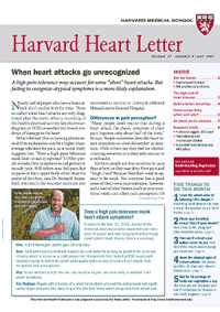 خبرنامه Harvard Heart Letter May 2017