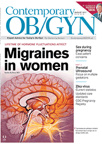 مجله Contemporary OBGYN August 2017