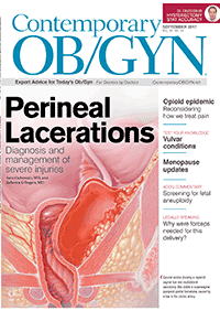 مجله Contemporary OBGYN September 2017