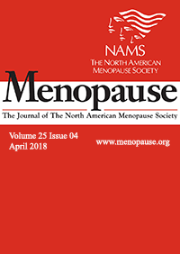 ژورنال Menopause April 2018